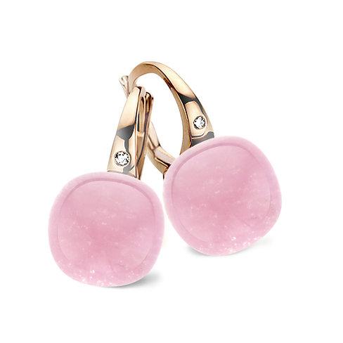 Mini Sweety met roze quartz en robijn